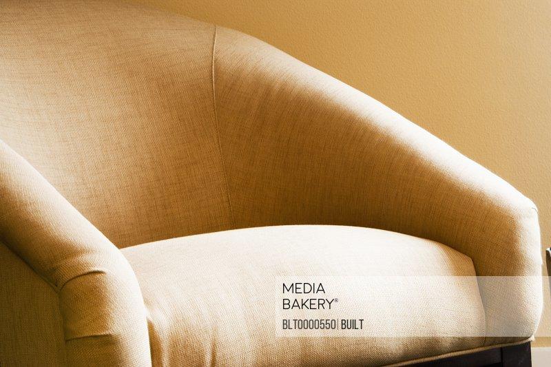 Cozy Tan Armchair