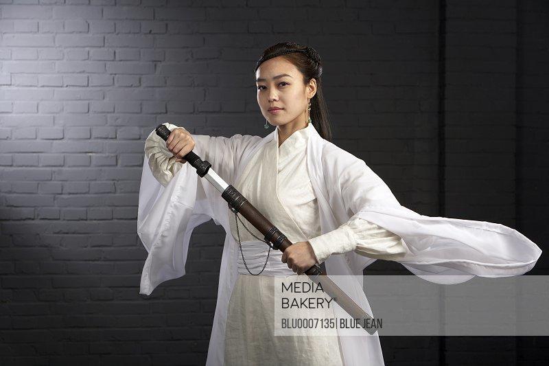 Ancient Chinese Warrior-Hero