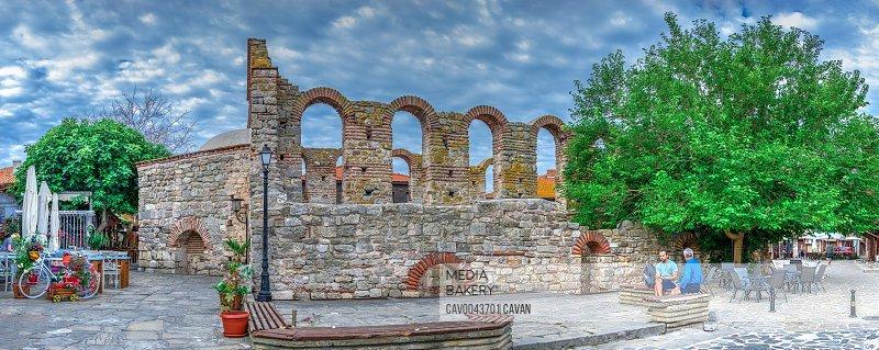 St Sophia Church in Nessebar, Bulgaria