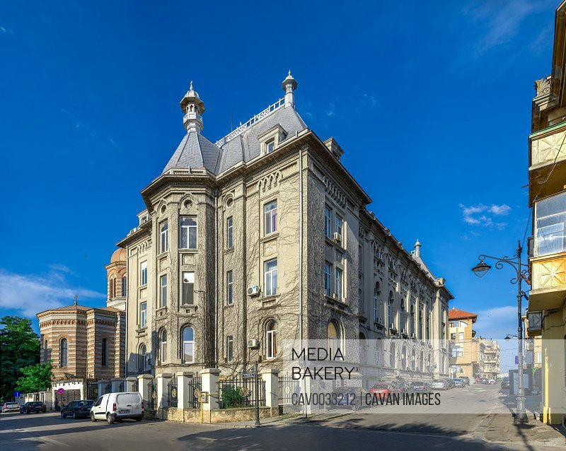Old town of Constanta, Romania<br><br><span style='color: red'>Editorial Use Only.</span><br><br>