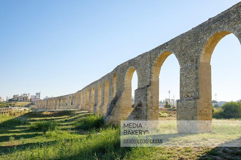 Kamares Aqueduct, Ottoman era aqueduct, Larnaca, Cyprus