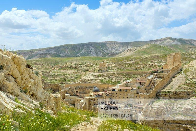 Holy Lavra of Saint Sabbas, Mar Saba monastery, West Bank, Palestine