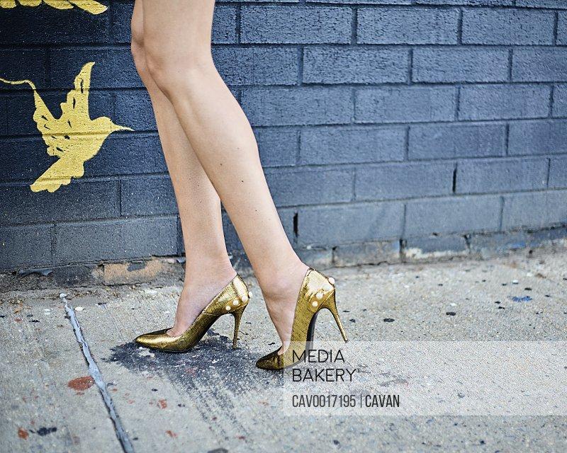 Feet on the street