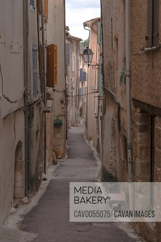 Aups provence city in France