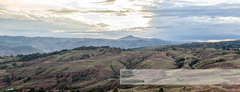 landscape near the city of Cusco