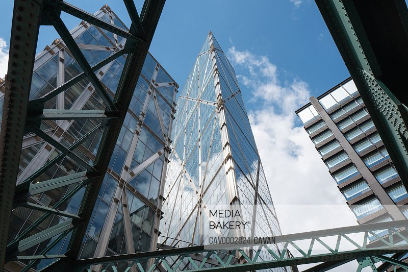 Modern office buidlings in the City of London