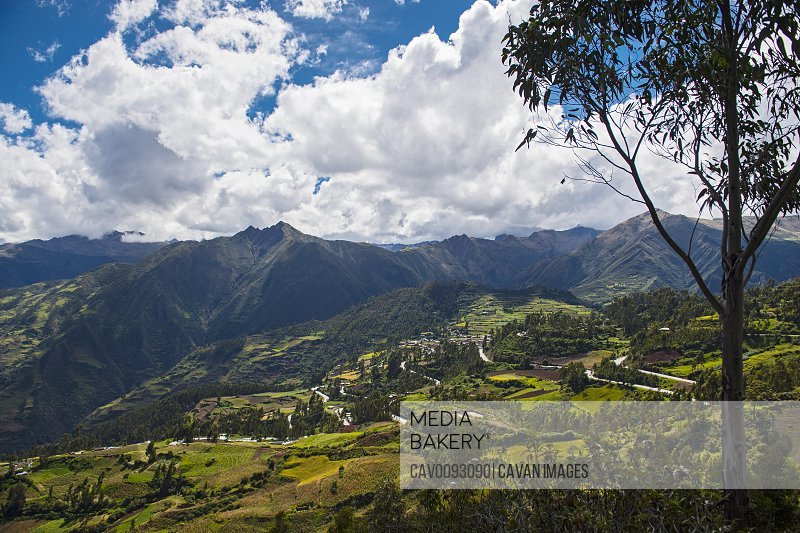 The hills above Tarma, Junin, Peru, South America