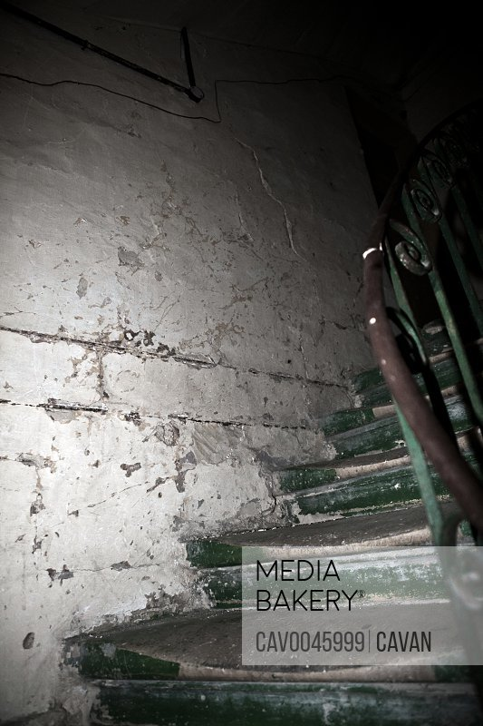 Stairwell of the famous Twanny Aquilina infanticide