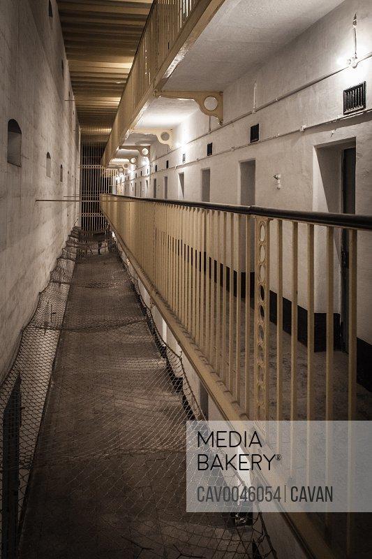 Old British prisons at Corradino in Malta