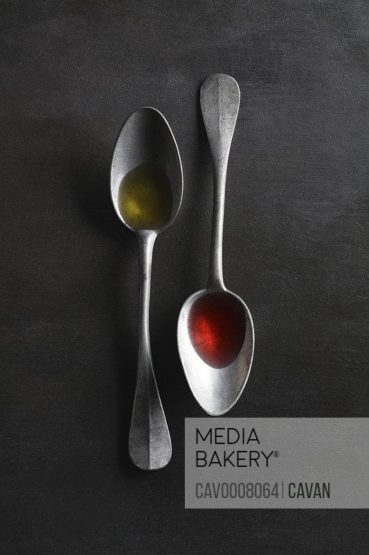 Oil and Vinegar Spoons