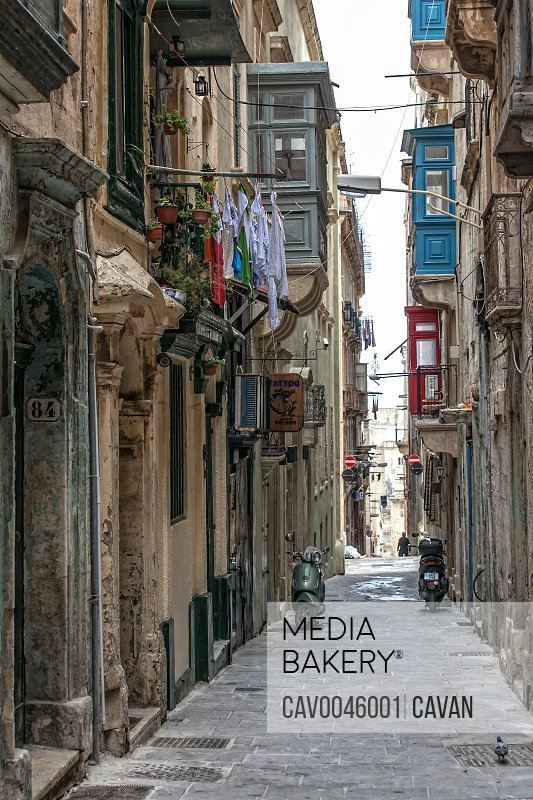 Oldest tattoo parlour in Malta in Strait Street<br><br><span style='color: red'>Editorial Use Only.</span><br><br>