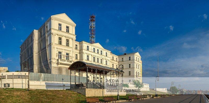 Embankment in the city of Constanta, Romania