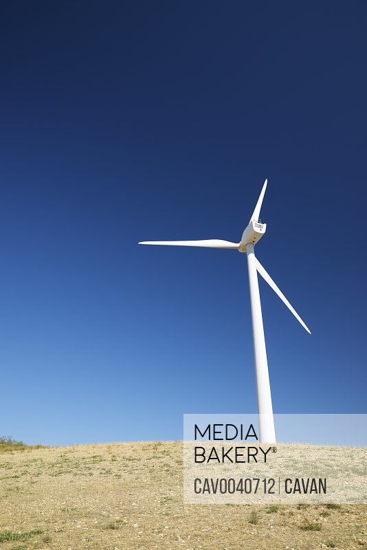 Windmill for electric power production in Spain.