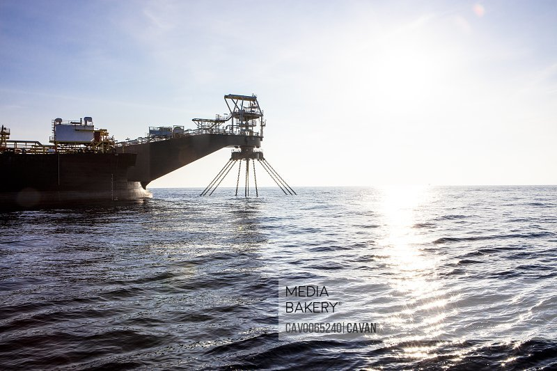 Floating oil storage vessel in the Gulf of Mexico<br><br><span style='color: red'>Editorial Use Only.</span><br><br>