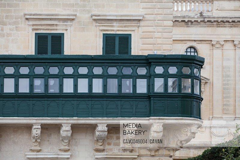 Balcony of the Grandmaster's Palace Valletta