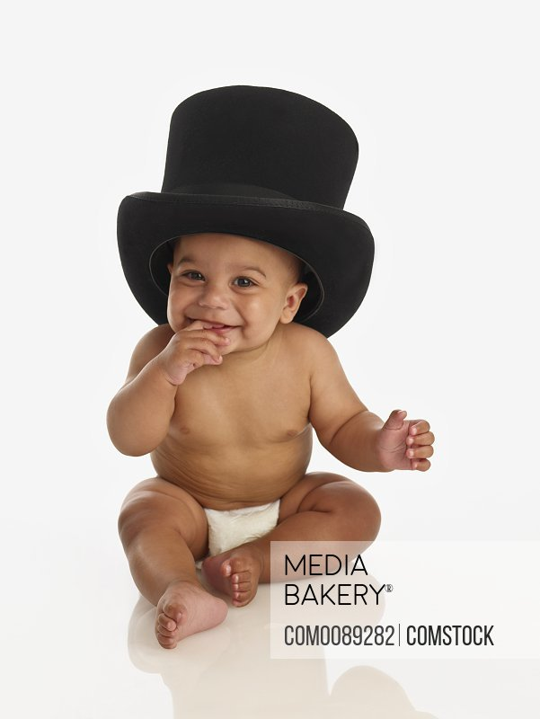 199c7848be1 Mediabakery - Photo by Stoked - cute little baby wearing a top hat