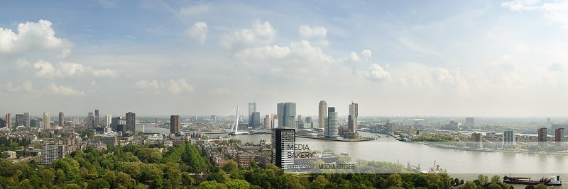 Rotterdam skyline cityscape Netherlands