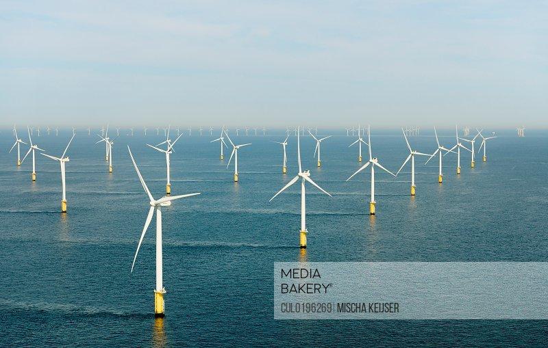Offshore wind farm North Sea