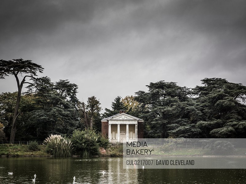 Temple at Gunnersbury Park West London England