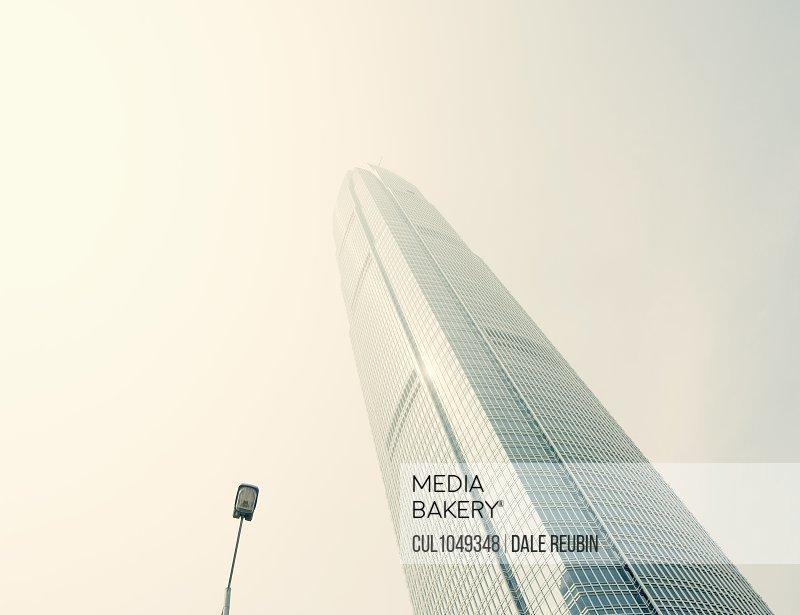 Smog in Hong Kong, China