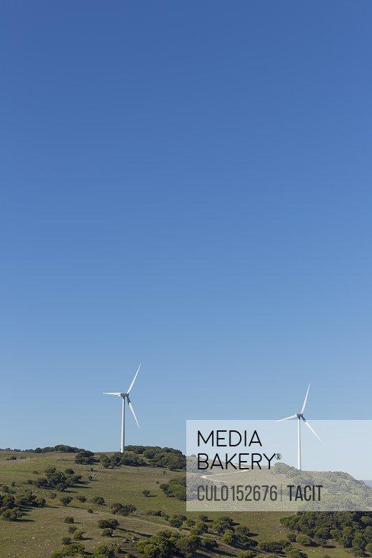 Wind farm Andalusia Spain