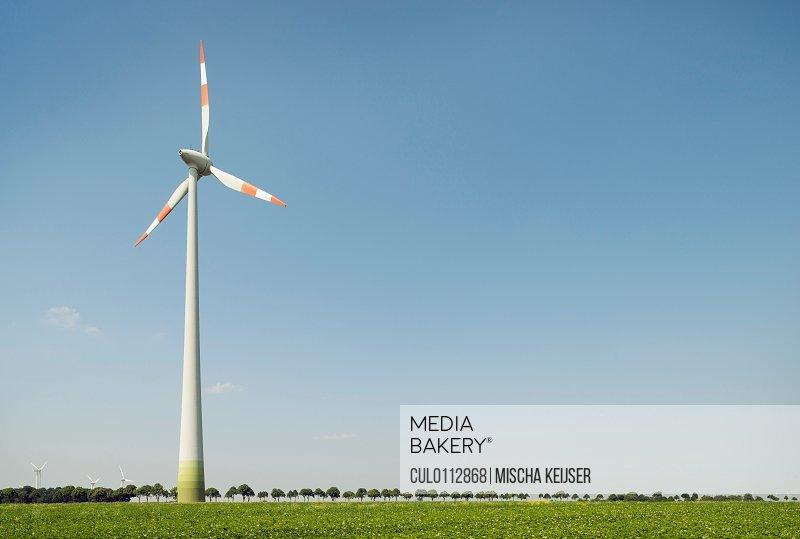Wind turbine Selfkant Germany