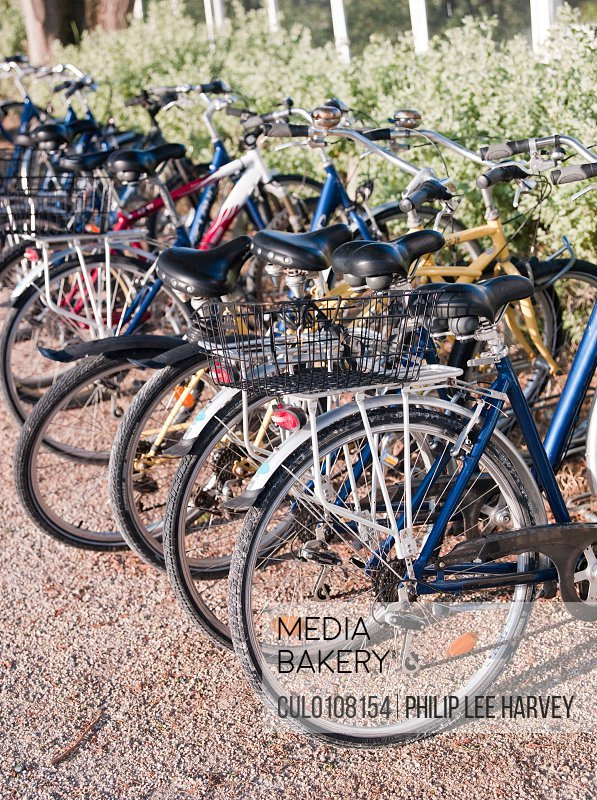 Bicycles at Le Martray Ile de Re France