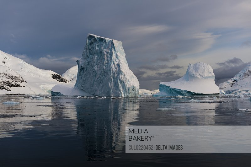 Skontorp cove Paradise Bay Antarctica