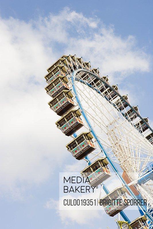 big wheel at fairground