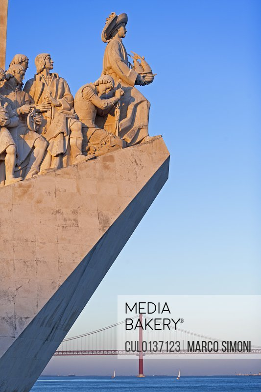 Monument to the Discoveries Belem Lisbon Portugal