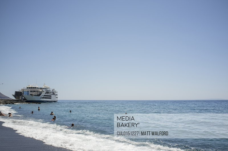 Agia Roumeli at daytime Crete