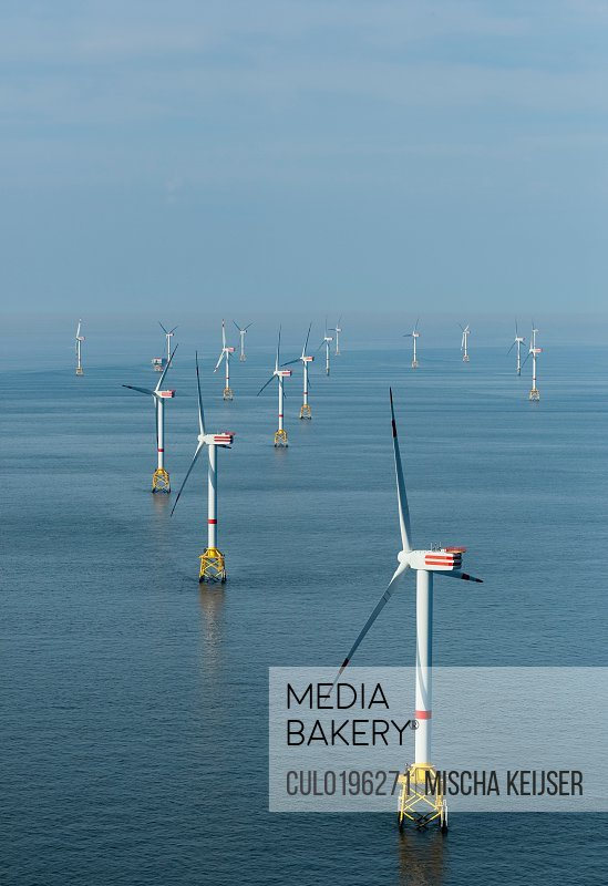 Offshore wind farm North Sea