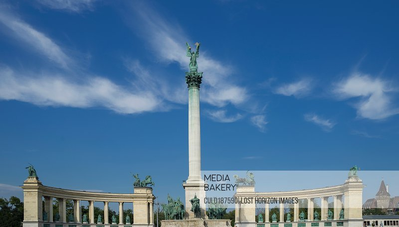 The Heroes Square Hungary Budapest