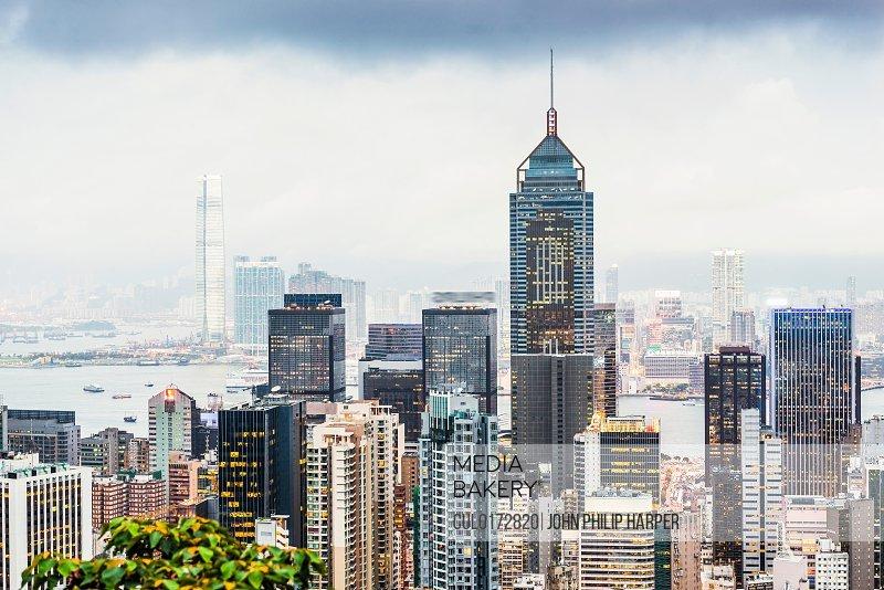 Skyline Hong Kong China