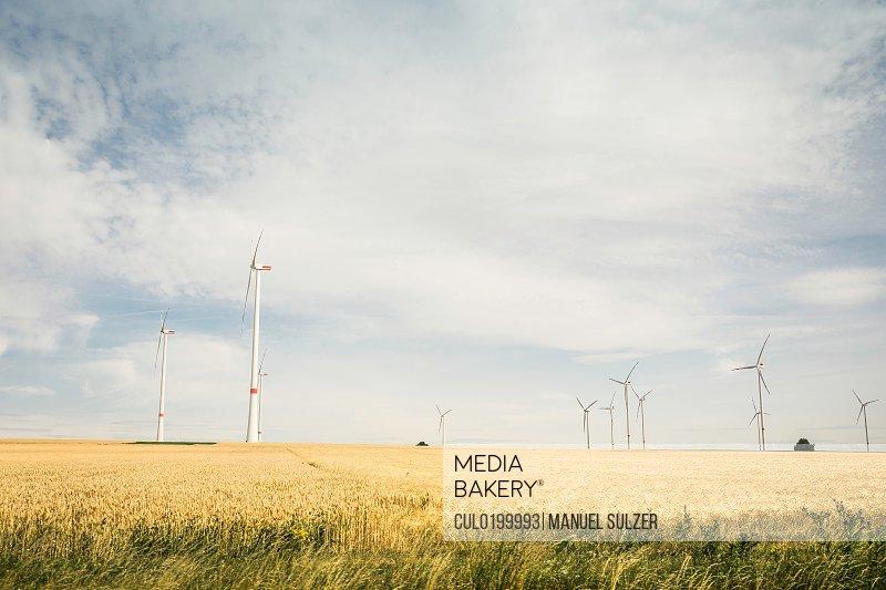 Wind farm Pfalz Germany
