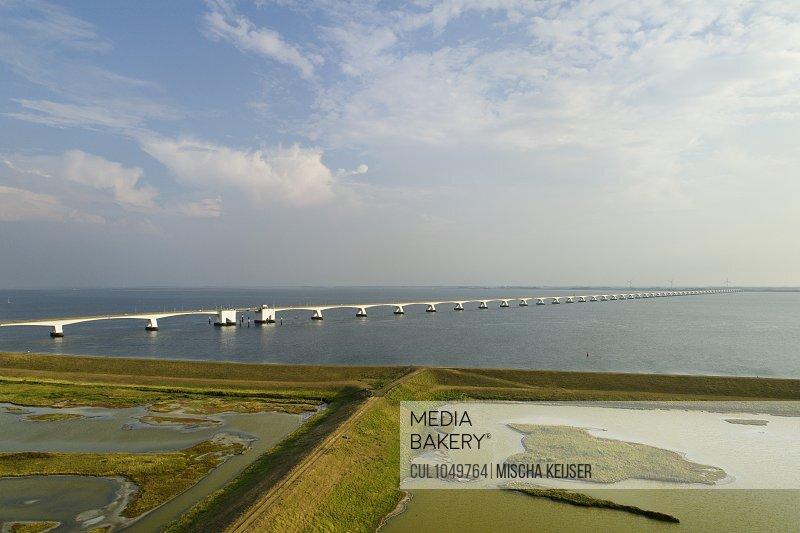 The Zeelandbrug (Zeeland Bridge), Zierikzee, Zeeland, The Netherlands