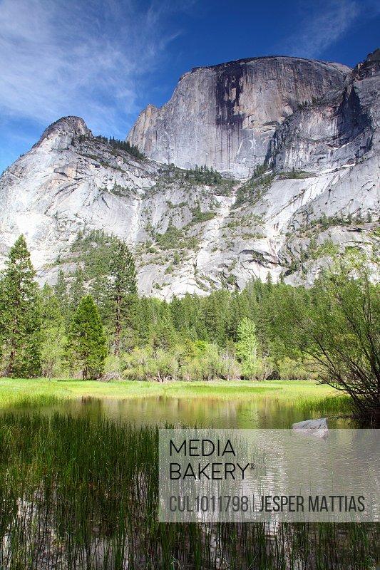Mountaintop in Yosemite National Park
