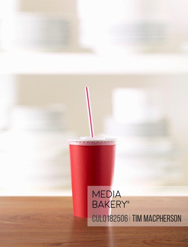 Fast food fizzy drink