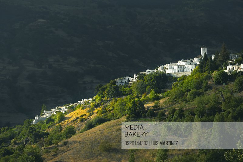Pampaneira, one of the most famous villages in Alpujarra; Granada Province, Andalucia, Spain
