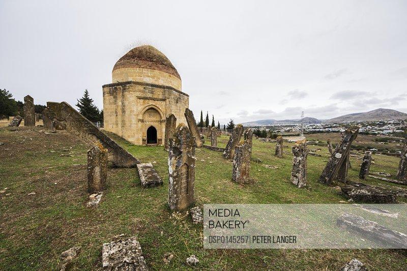 Tombs of the Shirvan Dynasty at the cemetery; Shamakhi, Azerbaijan