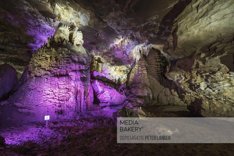 Prometheus Cave; Imereti, Georgia