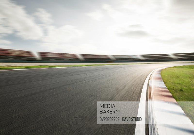 Motor racing track