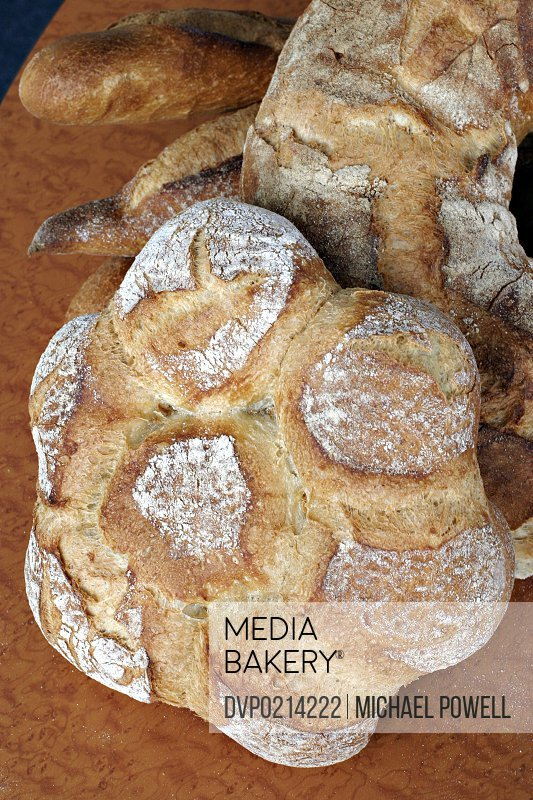 Hand made artisan bread
