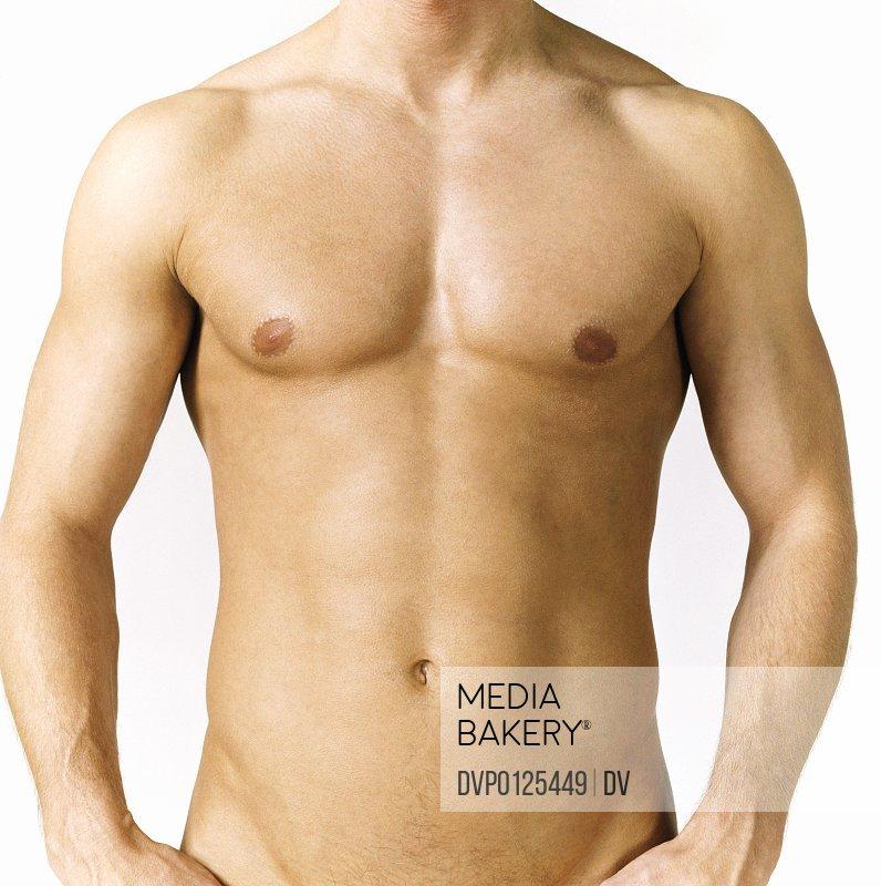 Naked Man's Stomach