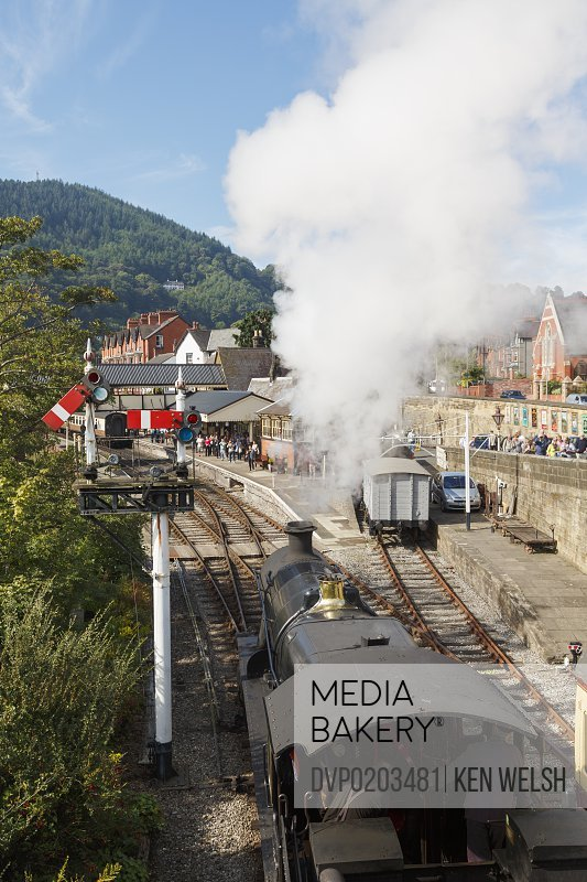 Llangollen Wales Steam engine