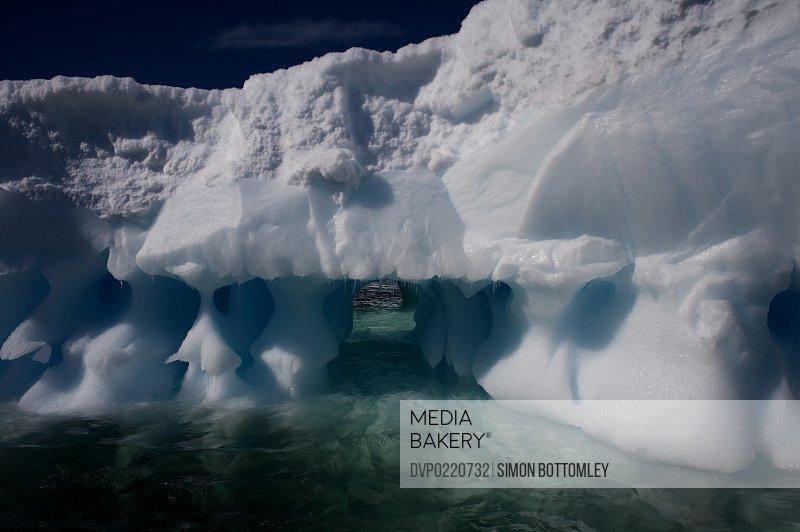 Antarctic Ice Erosion