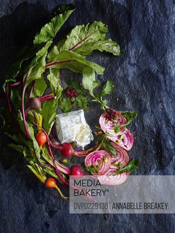 Raw Beeet Salad Ingredients