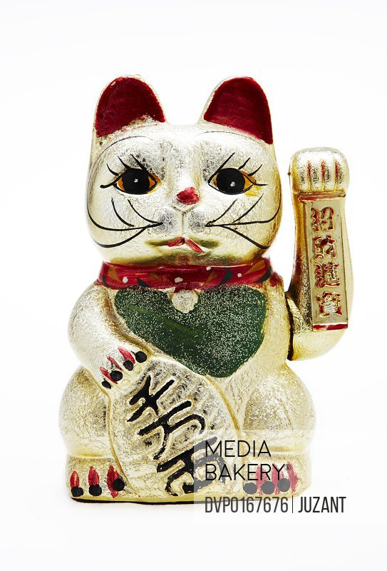 Japanese Lucky Cat Maneki Neko