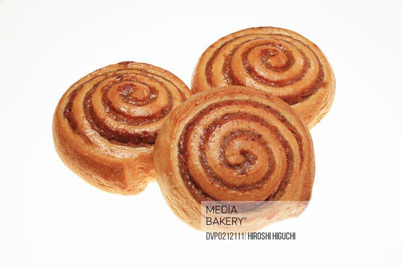 Nuss-Schnecke Cinnamon rolls Close-up