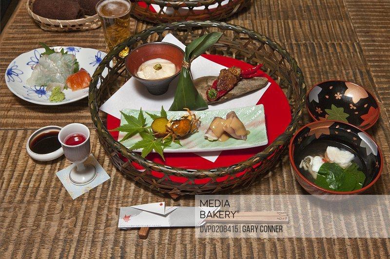 Kaiseki meal course